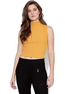Cropped Lucy In The Sky Cavada Amarelo