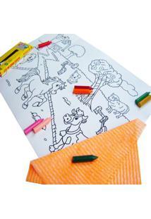 Quadro Kits For Kids Mágico Fazenda Multicolorido