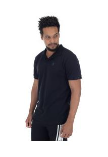 Camisa Polo Oakley Patch 2.0 - Masculina - Preto