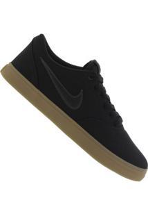 Tênis Nike Sb Check Solar Cnvs - Masculino - Preto/Marrom
