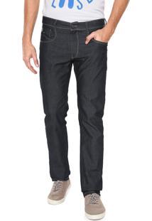 Calça Jeans Hang Loose Reta Lisa Azul