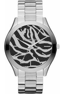 Relógio Michael Kors Swarovisk Mk3314 - Feminino-Prata