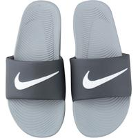 6f2c781a1c Sandália Nike Kawa Slide Masculina - Masculino-Branco+Cinza