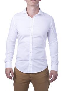 Camisa Alfaiataria Burguesia Básica Branca