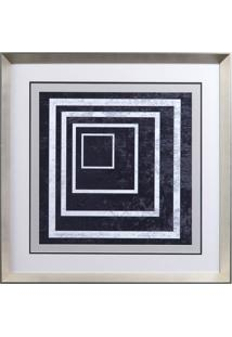 Quadro Decorativo Indigo And White