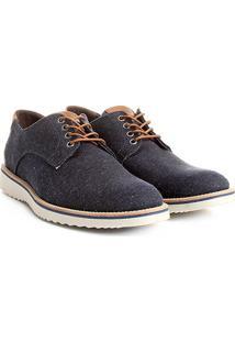 Sapato Casual Couro Reserva Tratorado - Masculino-Marinho