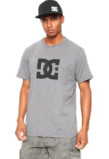 Camiseta Dc Shoes Star Cinza