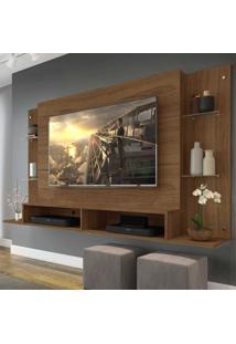 Painel Nairóbi Multimóveis Para Tv De Até 60 Polegadas Com Nicho - Duna Marrom