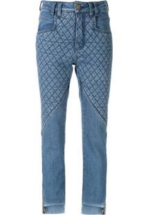 Andrea Bogosian Calça Jeans Skinny Salena - Azul