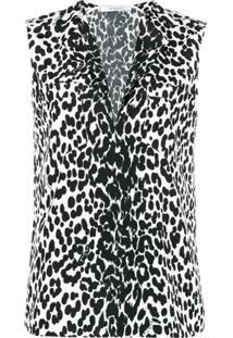 Givenchy Blusa De Seda - Preto
