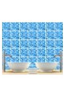 Adesivo De Azulejo Piscina 15X15Cm