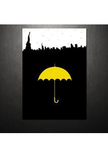 Poster Yellow Umbrella How I Met Your Mother