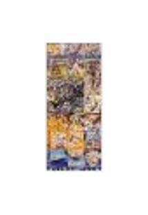Adesivo Decorativo De Porta - Azulejos - Grafite - 009Cnpt Auto Colante