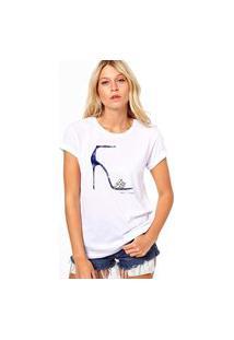 Camiseta Coolest Salto Cinderela Branco