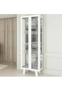 Cristaleira Cr6000 - Tecno Mobili. Branco
