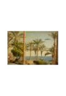 Painel Adesivo De Parede - Paisagem Vintage - 479Pn-P