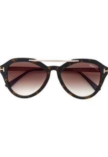 857f05049 R$ 2698,00. Farfetch Tom Ford Eyewear Óculos De Sol ' ...