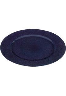 Sousplat Netum- Azul Marinho & Azul- Ø33Cmricaelle