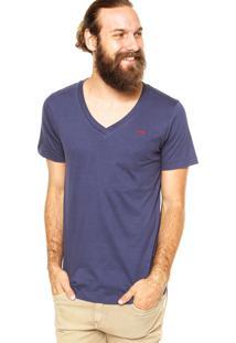 Camiseta Sommer Slim Azul