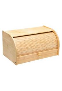 Porta-Pão Bambus Rip 38 Cm - Home Style
