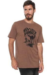 Camiseta ...Lost Mayhem Marrom