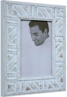 Porta Retrato De Mesa Branco 23X18X1