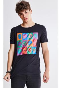 Camiseta Caveiras Fluor