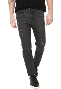 Calça Jeans Aramis Skinny Milão Cinza