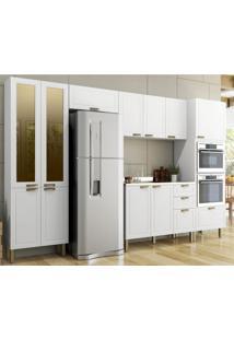 Cozinha Completa 6 Peças Americana Multimóveis 5667Mf Branco