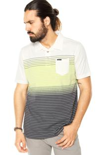 Camisa Polo Oakley Fade Multicolorida