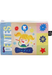 Necessaire Envelope Ó Design Menina - Od-Nevim - Azul
