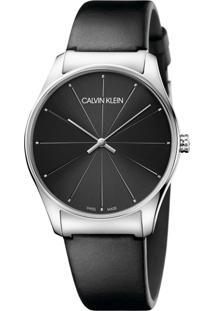 a9345e30d84cc Dafiti. Relógio Masculino Aço Inox Couro Analógico De Grife Calvin Klein ...
