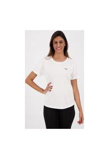 Camiseta Fila Basic Sports Feminina Branca