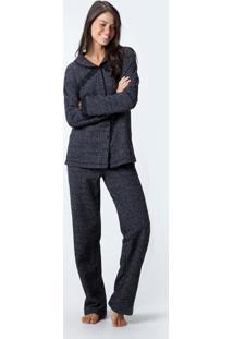 Pijama Joge Longo Preto