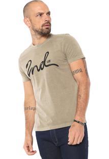 Camiseta Ellus 2Nd Floor Stone Snake Verde