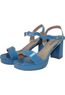 Sandália Meia Pata Tatiane Moreira Azul Denim
