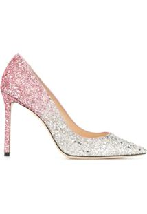 Jimmy Choo Scarpin 'Decollete' - Rosa