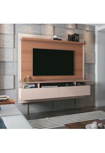 Home Suspenso Hb Móveis Limit 1.8 Tv 55 Pol Off White E Nature