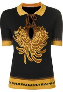 2d577c906a1c7 Camisa Pólo Gola Esporte Preta feminina