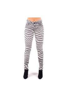 Calça Bana Bana Skinny Zebra