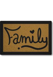Tapete Capacho Family - Ouro