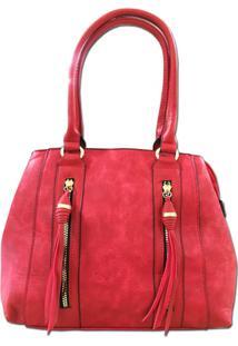 Bolsa Sys Fashion 2748 - Feminino-Vermelho