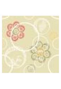 Papel De Parede Autocolante Rolo 0,58 X 3M - Floral 1266