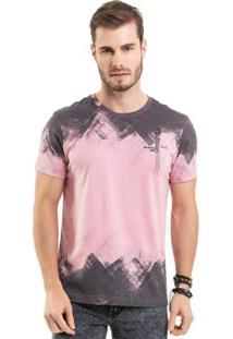 Camiseta Estonada Rosa Bgo