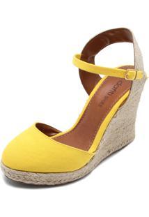 1f4cb9355 R$ 74,99. Dafiti Sandália Dafiti Shoes Espadrille Amarela