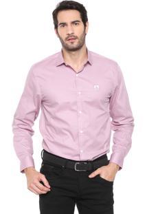Camisa Mr Kitsch Reta Logo Rosa