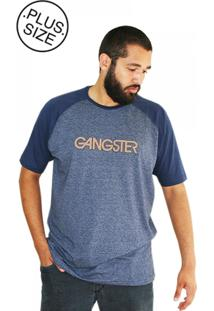 Camiseta Plus Size New York Azul