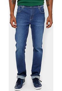 Calça Jeans Skinny Lacoste Stone Masculina - Masculino-Jeans