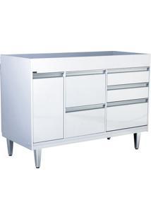 Gabinete Para Cozinha Em Mdf Viseu 86,5X120Cm Branco