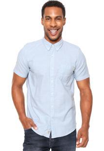 Camisa Timberland Bolso Azul